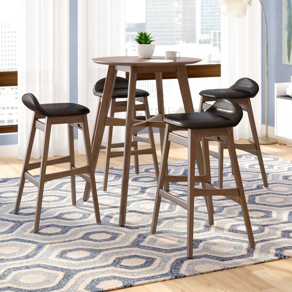 Adriana 5 Piece Pub Table Set by Langley Street Langley Street™