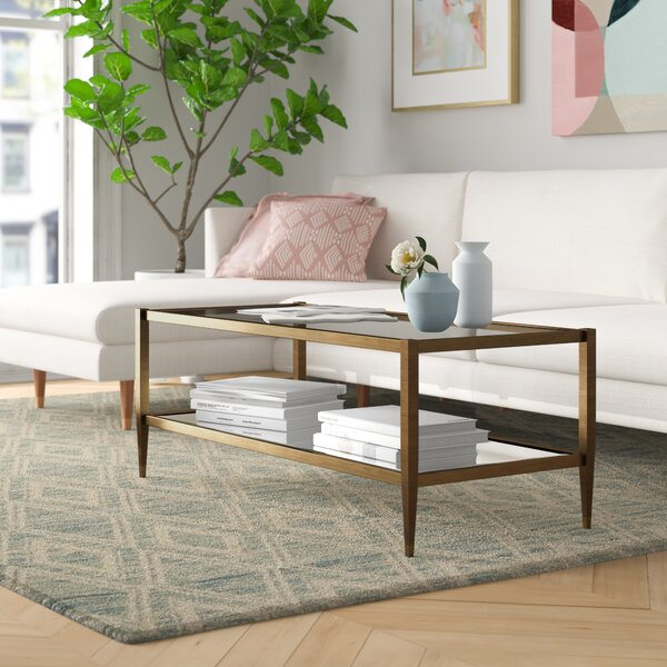 Erika Coffee Table With Storage By Foundstone