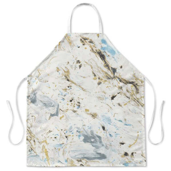 Marbled Apron by Ivy Bronx