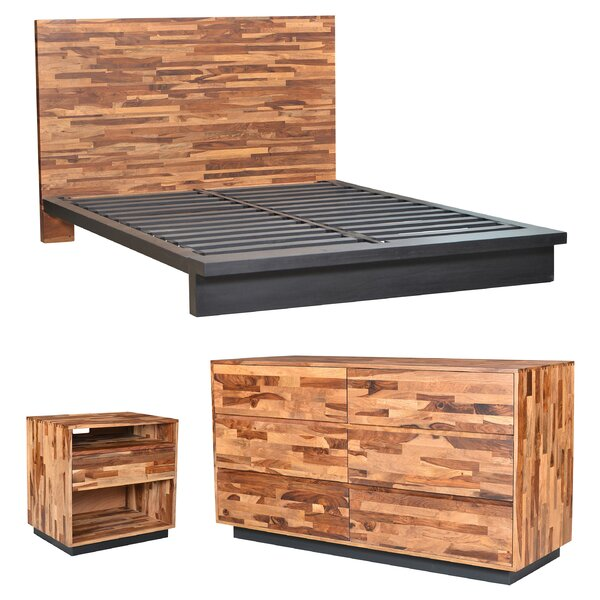 Remington Platform Configurable Bedroom Set by Millwood Pines