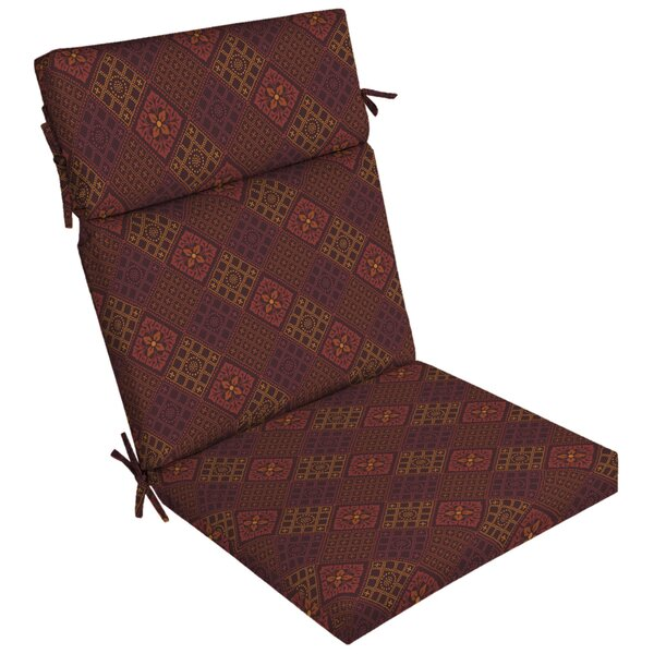 Azulejo Southwest Outdoor Dining Chair Cushion By Fleur De Lis Living