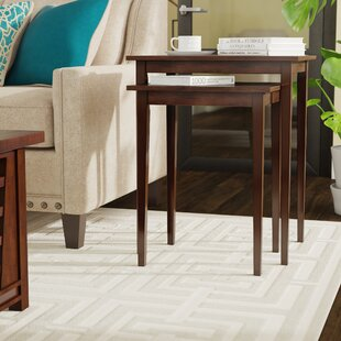 Compare Steinman 2 Piece Nesting Tables ByCharlton Home