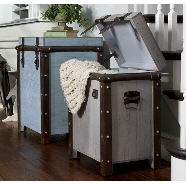 Kissling Weathered Tall 2 Piece Trunk by World Menagerie