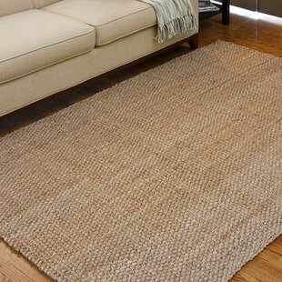 Jayleen Handwoven Flatweave Wheat Area Rug by Bayou Breeze