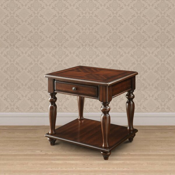 Obregon End Table With Storage By Alcott Hill