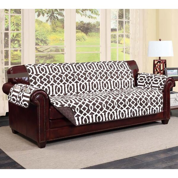 Ankenbaer Box Cushion Sofa Slipcover By Ebern Designs