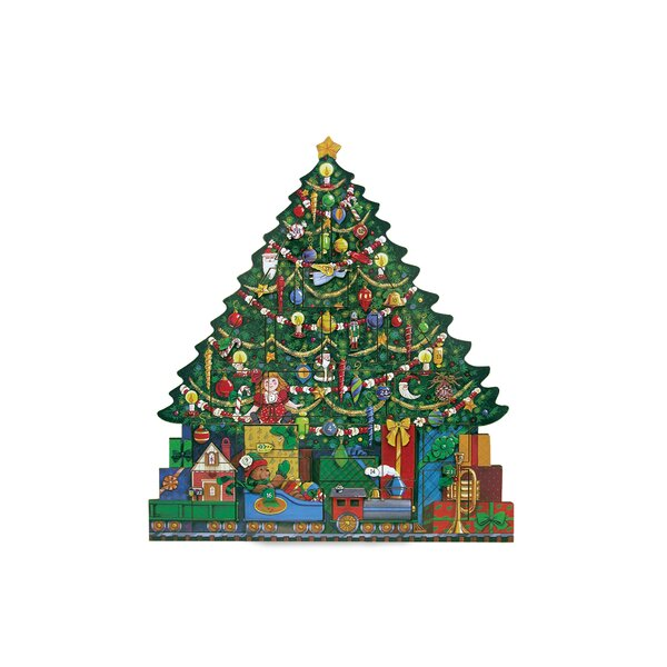 Christmas Tree Advent Calendar by Byers' Choice