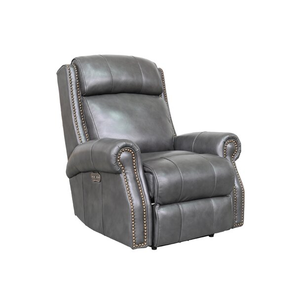 Coldwell Leather Power Recliner [Red Barrel Studio]