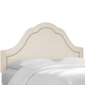 Upholstered Panel Headboard by Skyline Furniture