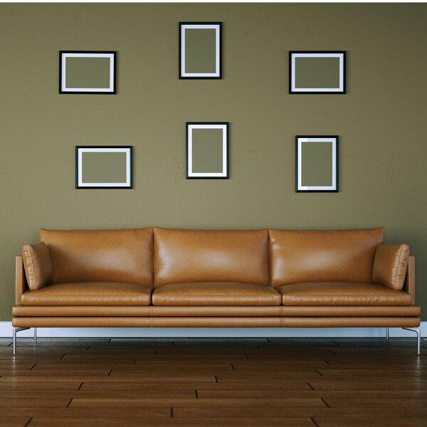 Neriah Top Grain Leather Sofa by Brayden Studio