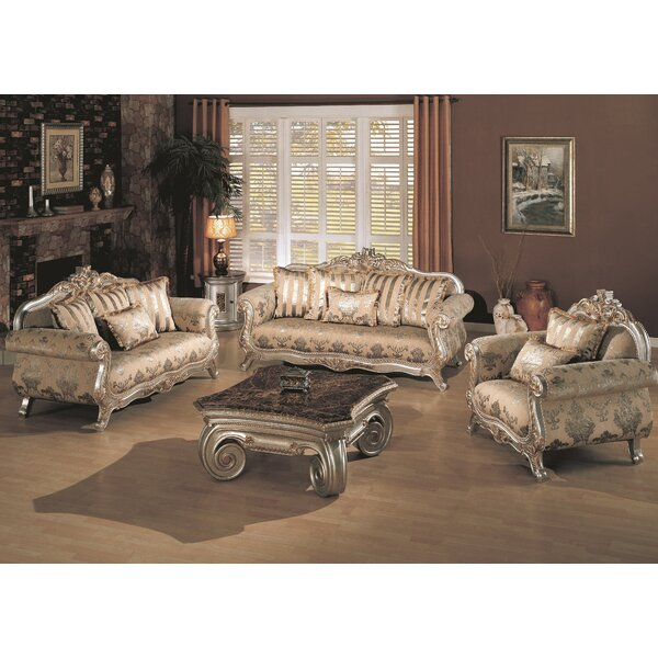 Victory Coffee Table Set by Wildon Home ®