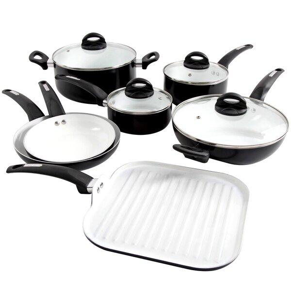 Herstal 11-Piece Cookware Set by Oster