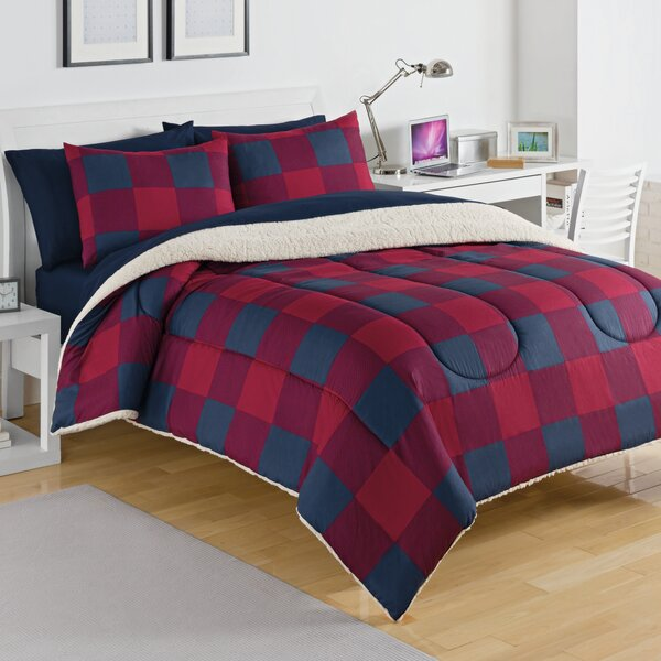 Buffalo Plaid Comforter Set by IZOD