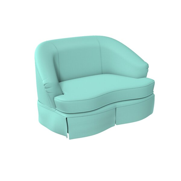 Tini Curved Loveseat By Oomph