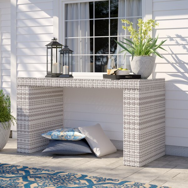 Falmouth Bar Table by Sol 72 Outdoor