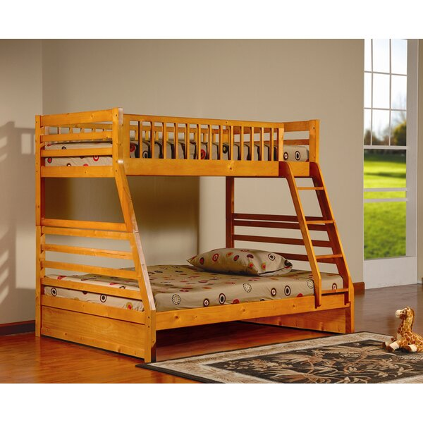 Alyce Twin Over Full Bunk Bed by Harriet Bee