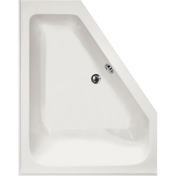 Designer Courtney 60 x 48 Soaking Bathtub by Hydro Systems