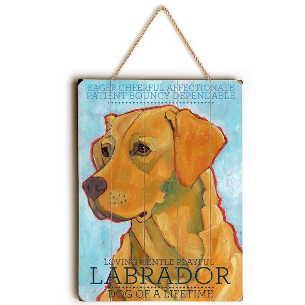 Labrador Graphic Art by Red Barrel Studio