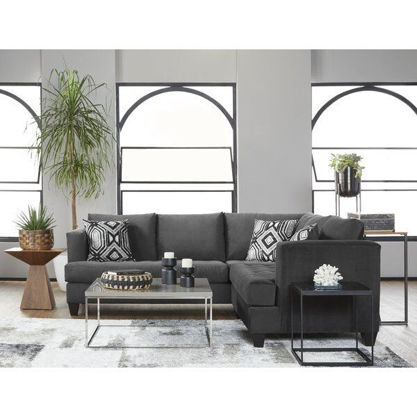 Nice Ofelia Reversible Sectional by Wrought Studio by Wrought Studio