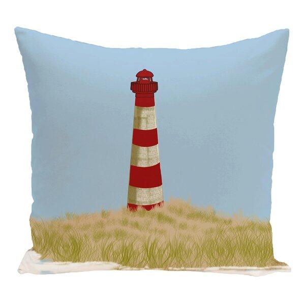 Hancock Sea Pines Geometric Print Outdoor Throw Pillow by Breakwater Bay