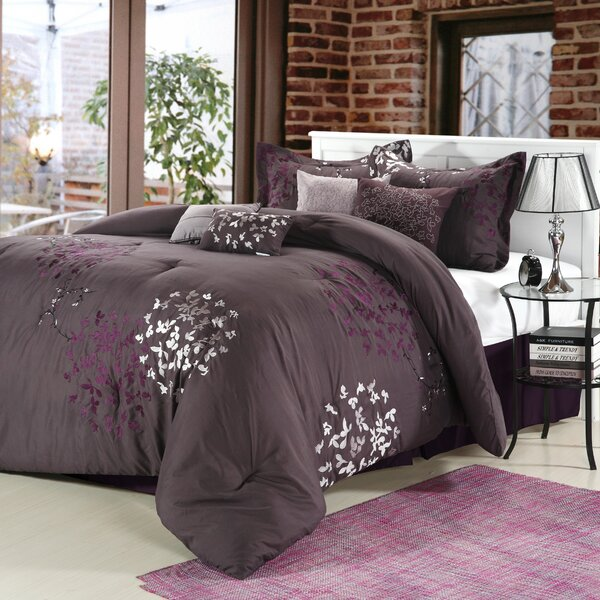 Cheila 12 Piece Comforter Set by Chic Home