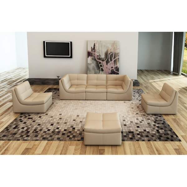 Buchanan Modular Sectional with Ottoman by Trule Teen