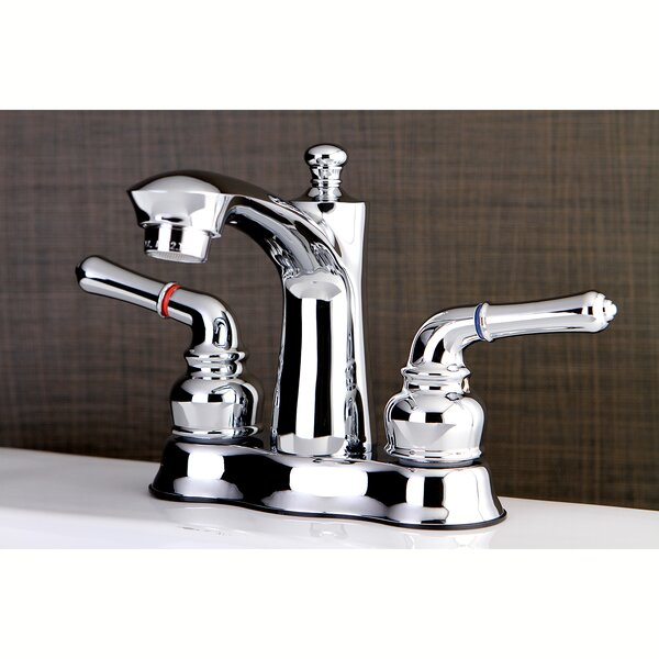 Naples Centerset Bathroom Faucet With Drain Assembly By Kingston Brass