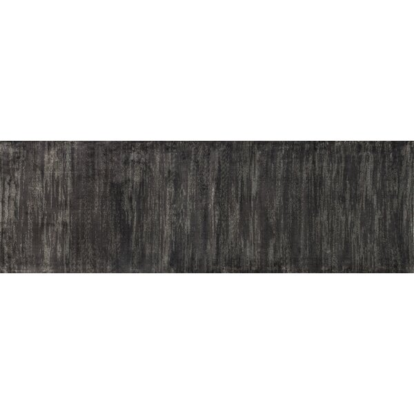 Keever Iron Gray Area Rug by Alcott Hill