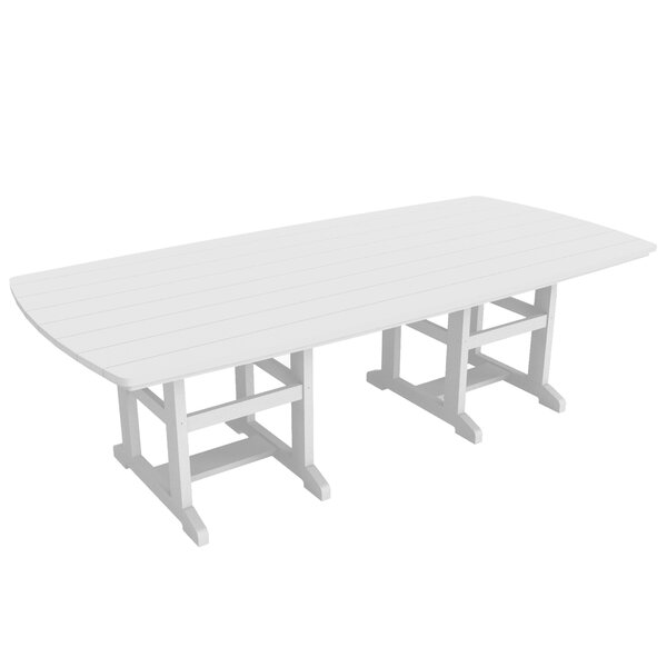 Kersten Plastic/Acrylic Dining Table by Symple Stuff