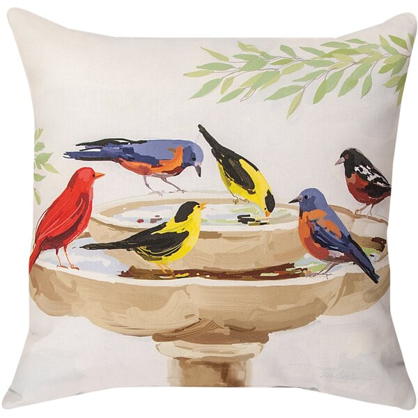 Bath Time Throw Pillow by Manual Woodworkers & Weavers