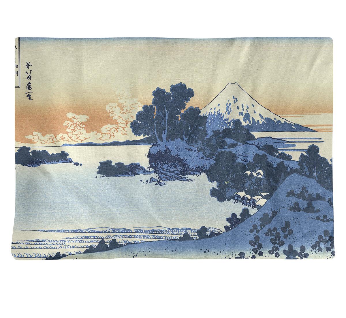East Urban Home Katsushika Hokusai Shichiri Beach In Sagami Province 18 Placemat Wayfair Ca