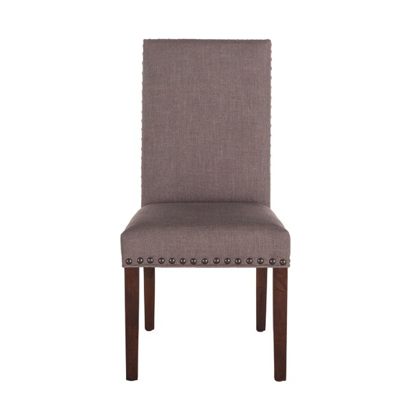 Johnone Upholstered Parsons chair (Set of 2) by Alcott Hill Alcott Hill