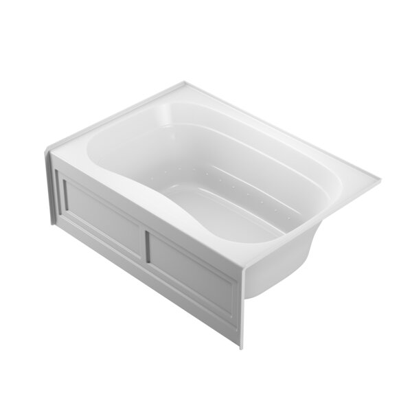 Signa Skirted 60 L x 42 W Drop In Pure Air Bathtub by Jacuzzi®