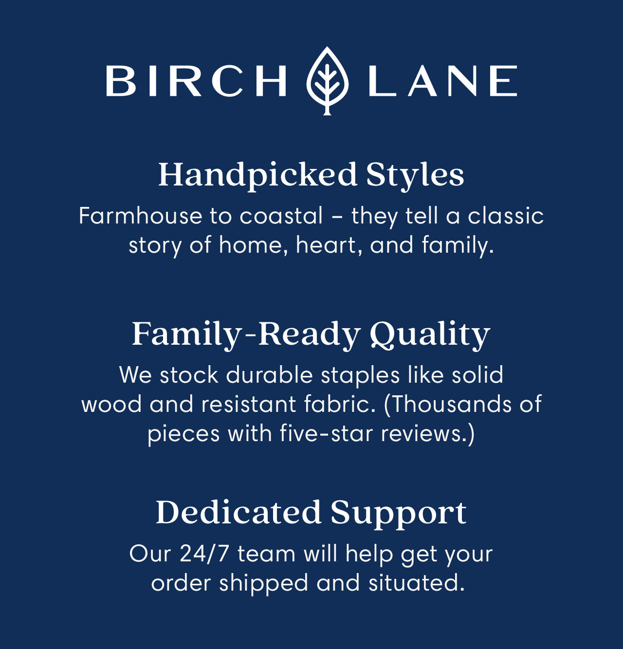 Birch Lane: Handpicked Styles, Family-Ready Quality, Family-Ready Quality