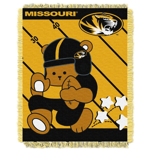 Collegiate Missouri Baby Blanket by Northwest Co.
