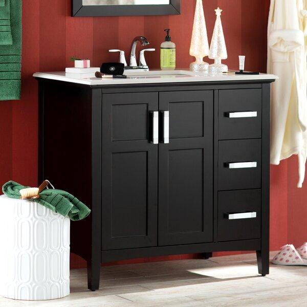 Winston 37 Single Bathroom Vanity Set by Simpli HomeWinston 37 Single Bathroom Vanity Set by Simpli Home