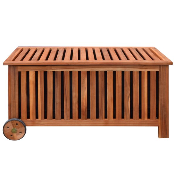 Garden Solid Wood Deck Box by Furnhouse Furnhouse