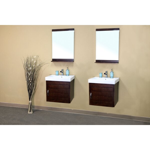 Morris 50 Double Bathroom Vanity Set by Bellaterra Home