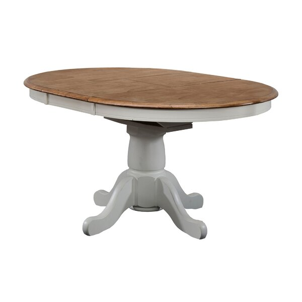 Pacifica Solid Wood Dining Table by Charlton Home