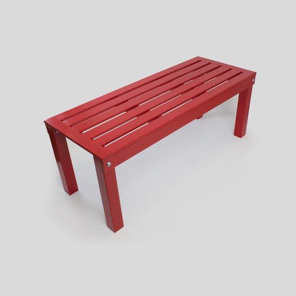 Pellegrin Ash Garden Bench by Gracie Oaks Gracie Oaks