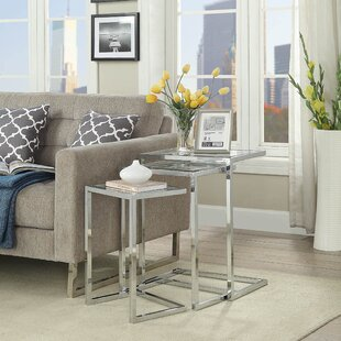 Kilburn 3 Piece Nesting Table (Set of 3) Latitude Run