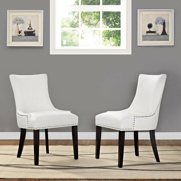 Enfield Upholstered Dining Chair (Set of 2) by Red Barrel Studio Red Barrel Studio