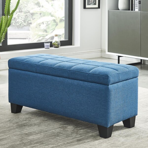 Pimentel Fabric Storage Ottoman by Ebern Designs