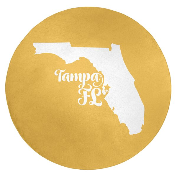 Tampa Florida Poly Chenille Rug