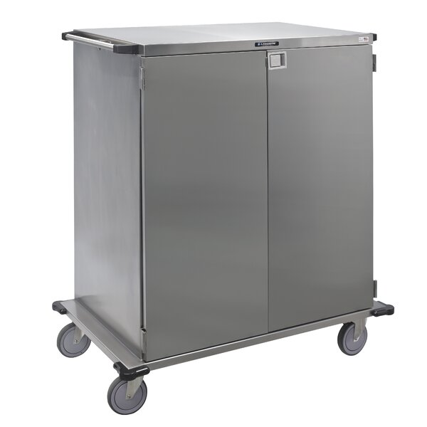 Stainless Steel Case Utility Cart by Lakeside Manufacturing