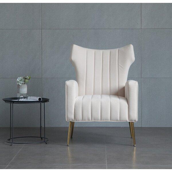 Lauretta Wingback Chair by Mercer41 Mercer41