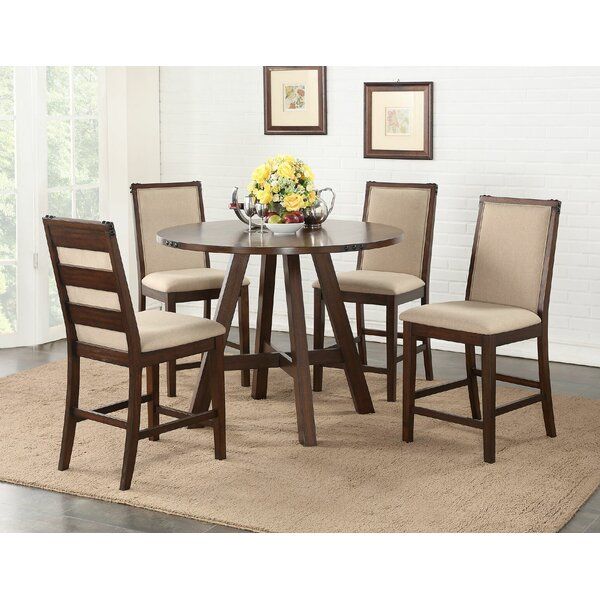 Chandeleur 5 Piece Counter Height Dining Set by Darby Home Co