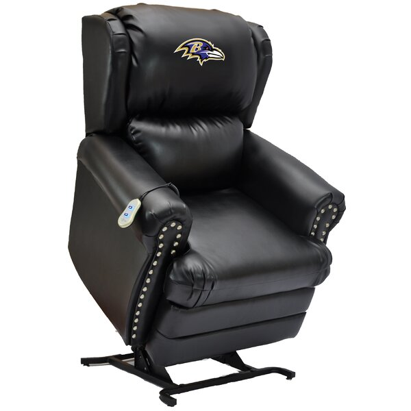 Football Power Lift Assist Recliner by Imperial International