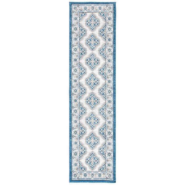 Slesnick Oriental Dark Blue/Ivory Indoor / Outdoor Area Rug