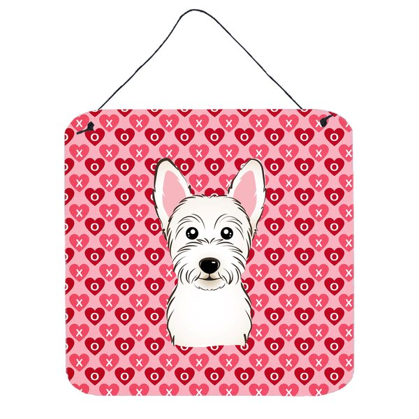 Westie Hearts Wall Décor by East Urban Home